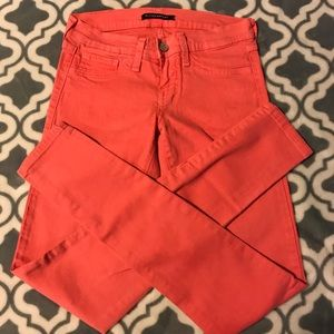 Flying Monkey pink/ coral skinny jeans